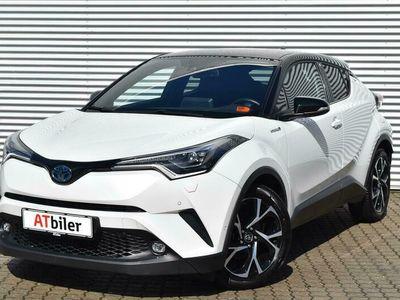 brugt Toyota C-HR 1,8 Hybrid C-LUB Prem Selected Alcan Bito Multidrive S 122HK 5d Aut. A+++