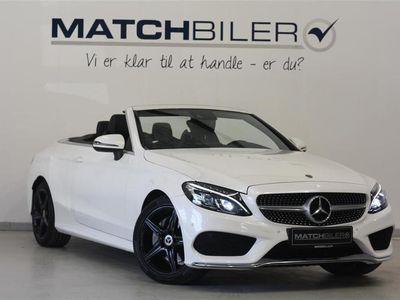 brugt Mercedes C200 2,0 4-Matic 9G-Tronic 184HK Cabr. 9g Aut.
