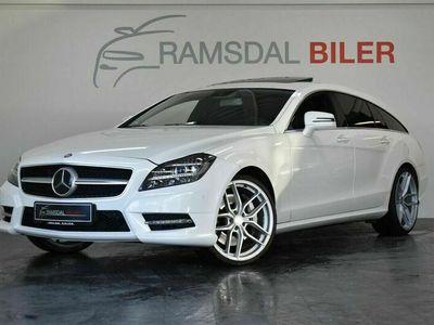 brugt Mercedes CLS500 Shooting Brake 4,7 AMG Line SB aut.