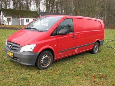 brugt Mercedes Vito 116 Extra Lang 2,1 CDI 163HK Van 6g
