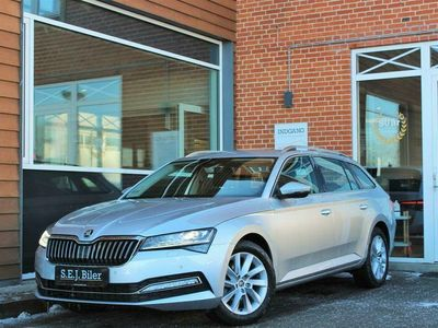 brugt Skoda Superb Combi 1,5 TSI ACT Style DSG 150HK Stc 7g Aut. A+
