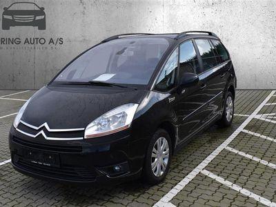 brugt Citroën C4 Picasso HDI 110 110HK - Personbil - sort