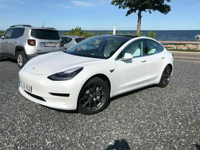 brugt Tesla Model 3 Standard Range Plus 4dr Fixed Ratio
