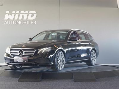 brugt Mercedes E220 2,0 D 9G-Tronic 194HK Stc 9g Aut.