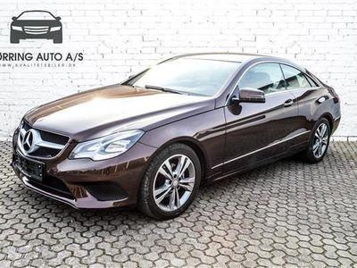 used Mercedes E200 0 184HK 2d 6g