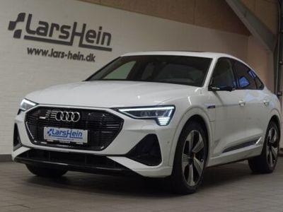 brugt Audi E-Tron - S-line SB quattro