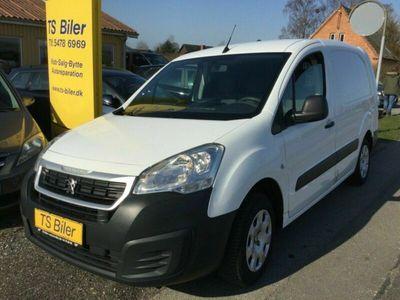 brugt Peugeot Partner 1,6 BlueHDi 100 L2 Flex Van