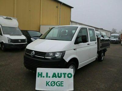 brugt VW Transporter 2,0 TDi 150 Db.Kab m/lad