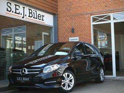 brugt Mercedes B180 1,5 CDi Business 109HK MPV 5d