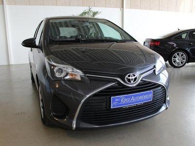brugt Toyota Yaris 1,3 VVT-i T2 MDS