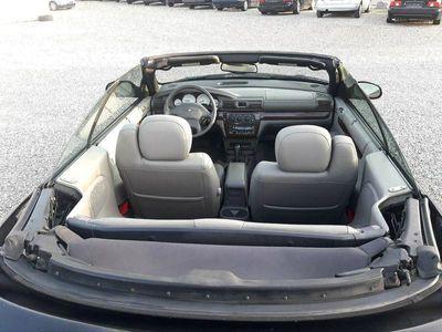brugt Chrysler Sebring Cabriolet Cabriolet