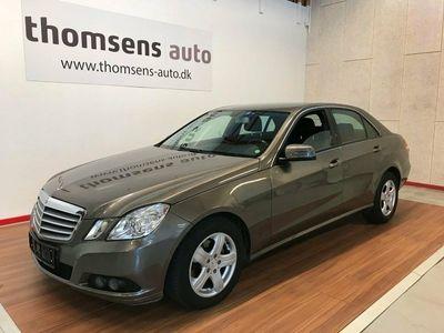 käytetty Mercedes E200 2 CDi aut. BE