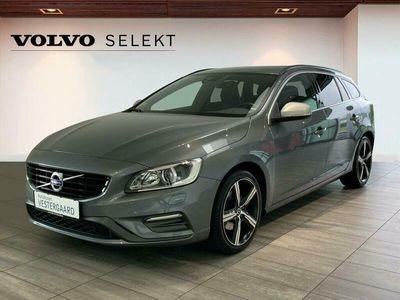 brugt Volvo V60 2,0 T4 R-design 190HK Stc 8g Aut.