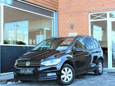 brugt VW Touran 1,6 TDI BMT SCR Comfortline 115HK 6g A