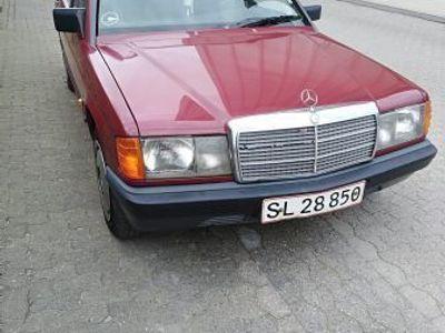 brugt Mercedes 190 2,5 diesel