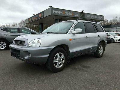 brugt Hyundai Santa Fe 2,0 CRDi GLS 4WD 112HK Van