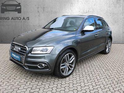 brugt Audi SQ5 3,0 biturbo TDI Quattro Tiptr. 313HK 5d Aut. - Personbil - Mørkgråmetal