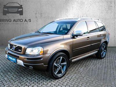 used Volvo XC90 2,4 D5 R-design AWD 200HK 5d 6g Aut. - Personbil - Brunmetal - 7 pers.