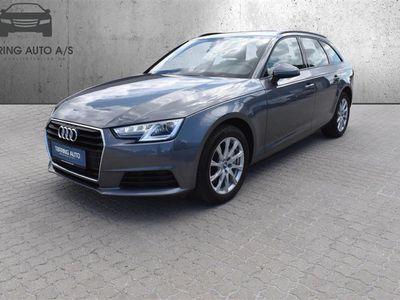brugt Audi A4 Avant 2,0 TDI Edition Plus S Tronic 190HK Stc 7g Aut. - Personbil - Gråmetal