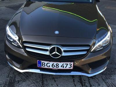 käytetty Mercedes C220 2.1 170 HK AMG line