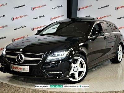 brugt Mercedes CLS350 3,0 CDi AMG Line SB aut.