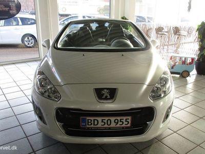brugt Peugeot 308 CC 1,6 THP 156HK Cabr. 6g Aut.