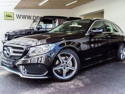 brugt Mercedes C200 d 2,2 AMG Line stc. aut.