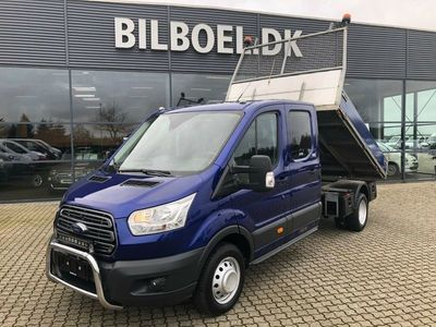 brugt Ford Transit 470 L4 Chassis 2,0 TDCi 170 Trend Db.Cab Tiplad