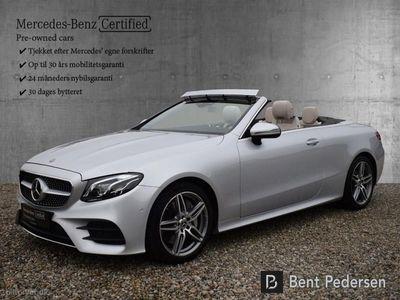brugt Mercedes E300 0 9G-Tronic 245HK Cabr. 9g Aut.