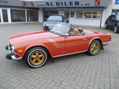 brugt Triumph TR6 2,5 Cabriolet