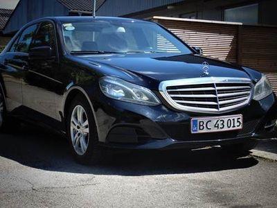 brugt Mercedes E200 2 CDI 7G-Tronic Plus