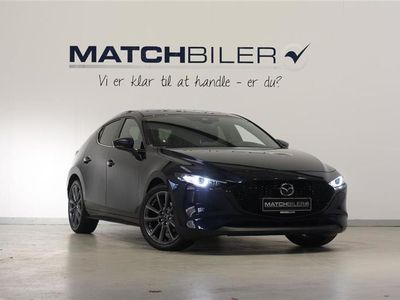 brugt Mazda 3 2,0 Skyactiv-X Cosmo 180HK 5d 6g Aut.