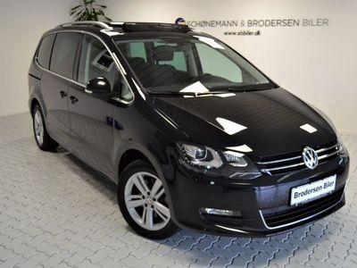 brugt VW Sharan 2,0 TDi 150 Comfortline DSG 7prs