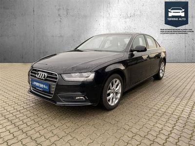 brugt Audi A4 2,0 TDI aut. 143HK - Personbil - Sort