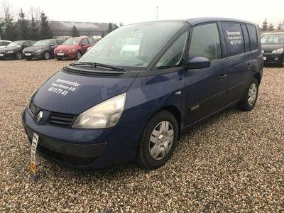 brugt Renault Espace 1,9 dCi Authentique Van