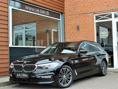 brugt BMW 520 d Touring 2,0 D Steptronic 190HK Stc 8g Aut. A+