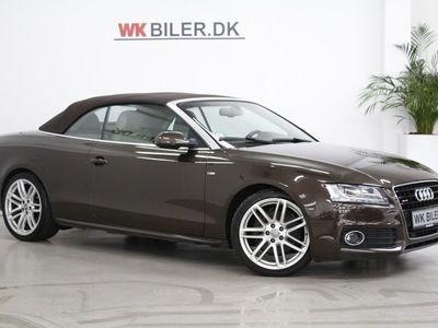 brugt Audi A5 Cabriolet 3,0 TDi 240 quattro S-tr
