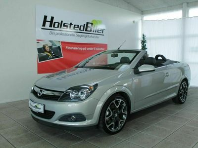 brugt Opel Astra Cabriolet 2,0 Turbo TwinTop