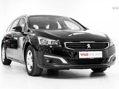 brugt Peugeot 508 SW 1,6 BlueHDi Active EAT6 120HK Stc 6g Aut.