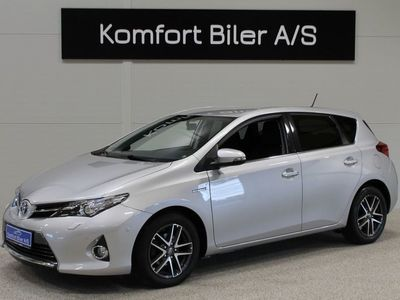 brugt Toyota Auris Hybrid 1,8 Hybrid Premium CVT