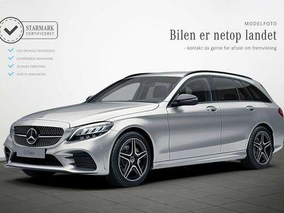 usado Mercedes C220 d 2,0 AMG Line stc. aut.