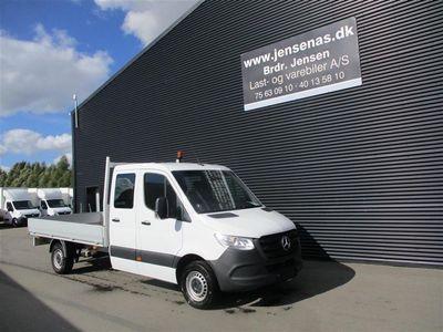 brugt Mercedes Sprinter 316 MANDSKABSBIL AUT. 2,1 CDI 163HK DobKab 2020