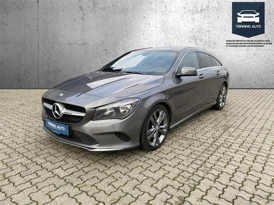 brugt Mercedes CLA200 Shooting Brake d 2,1 CDI 136HK Stc 6g - Personbil - Gråmetal