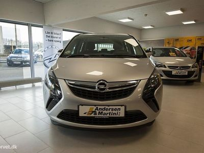 brugt Opel Zafira 1,4 Turbo Limited Start/Stop 120HK 6g