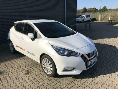 brugt Nissan Micra 1,0 IG-T Acenta Start/Stop 100HK 5d 1,0