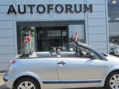brugt Citroën C3 Pluriel 1,6 i 16V Sensodrive 110HK Combi Aut.