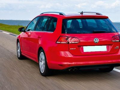 brugt VW Golf Variant 1,4 TSI BMT Allstar DSG 125HK Stc 7g Aut. - Personbil - rød