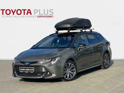 brugt Toyota Corolla Touring Sports 2,0 Hybrid H3 Premium E-CVT 184HK Stc 6g Aut. A+