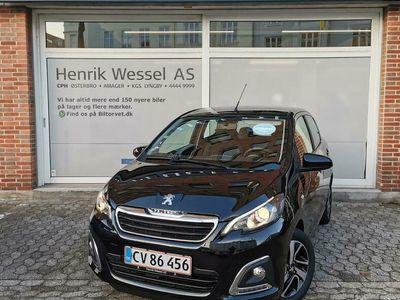 brugt Peugeot 108 1,0 e-Vti Infinity M 72HK 5d A+++
