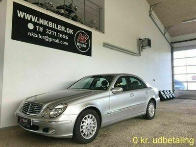brugt Mercedes E240 6 Elegance